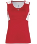 DUC Look-Out Women's Tank (Red/ White) [SALE] - Discount Tennis Apparel