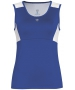 DUC Look-Out Women's Tank (Royal/ White) - Women's Tops Tank Tops Tennis Apparel