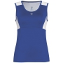 DUC Look-Out Women's Tank (Royal/ White)