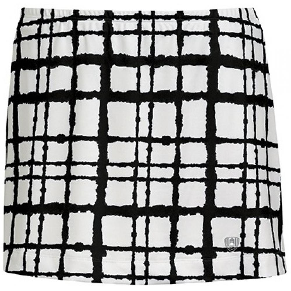 DUC Chaos Women's Power Skirt (White/ Black)