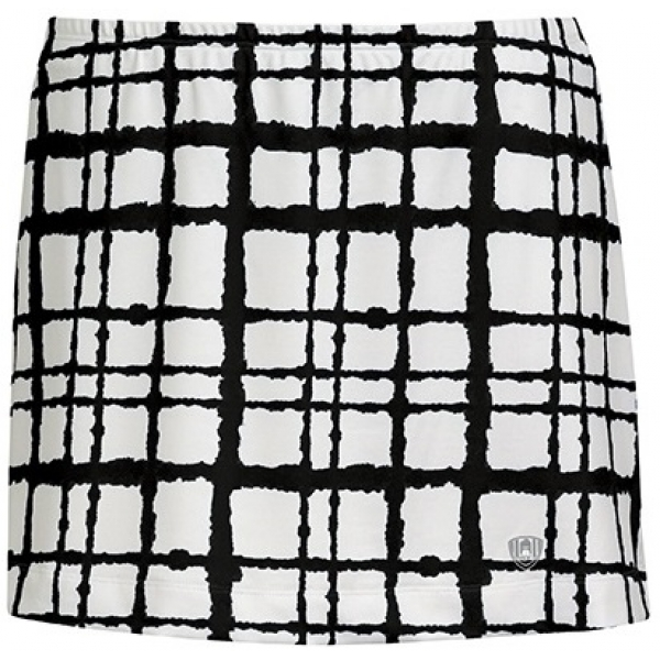 DUC Chaos Women's Power Skirt (White/ Black)