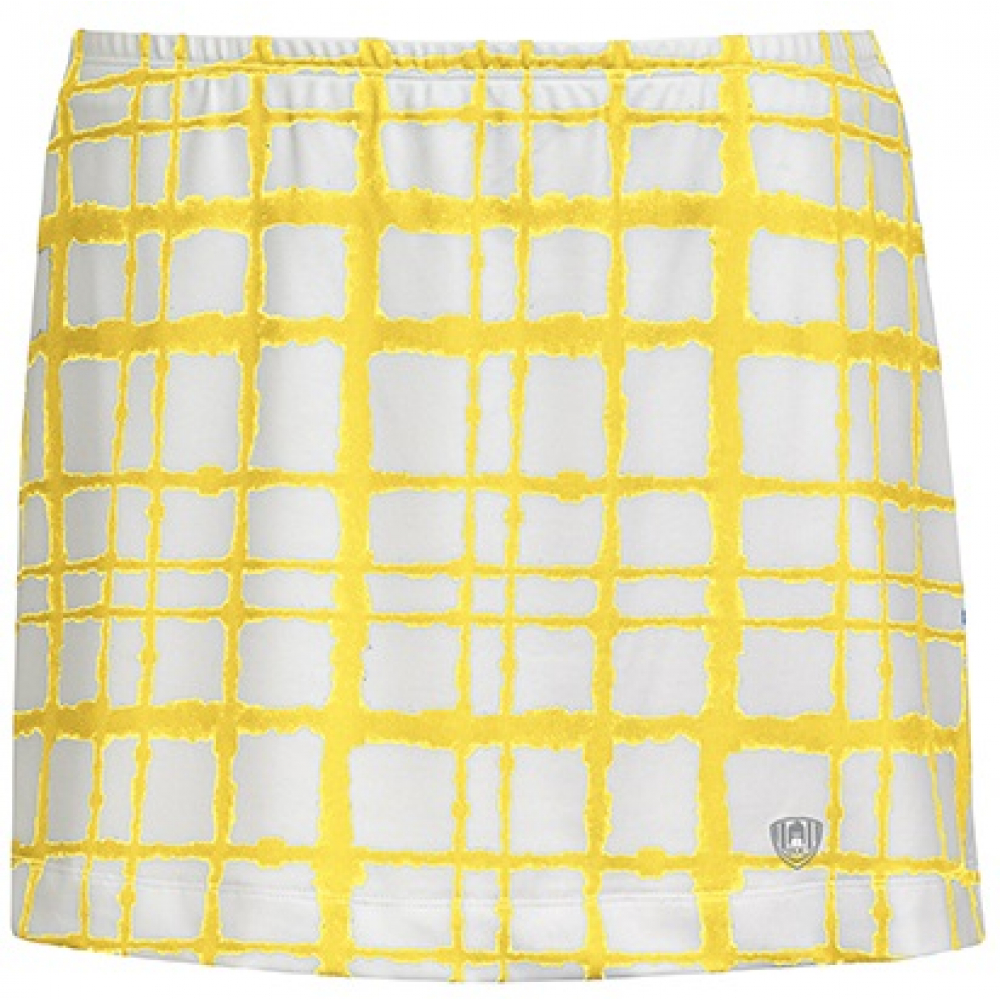 DUC Chaos Women's Power Skirt (White/ Gold)