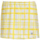 DUC Chaos Women's Power Skirt (White/ Gold) -
