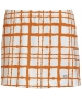 DUC Chaos Women's Power Skirt (White/ Orange) - DUC Apparel