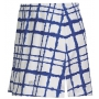 DUC Chaos Women's Power Skirt (White/ Royal)