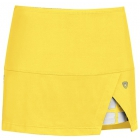 DUC Peek-A-Boo Women's Power Skirt (Gold/ White) - DUC Tennis Apparel