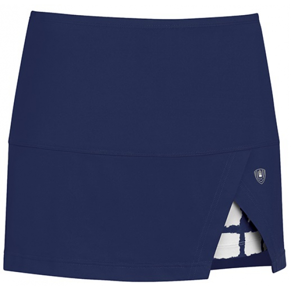 DUC Peek-A-Boo Women's Power Skirt (Navy/ White)