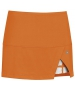 DUC Peek-A-Boo Women's Power Skirt (Orange/ White) - DUC Apparel