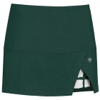 DUC Peek-A-Boo Women's Power Skirt (Pine/ White) - DUC Tennis Apparel