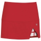 DUC Peek-A-Boo Women's Power Skirt (Red/ White) - DUC Women's Apparel