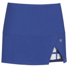 DUC Peek-A-Boo Women's Power Skirt (Royal/ White) - DUC Tennis Apparel