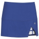DUC Peek-A-Boo Women's Power Skirt (Royal/ White) - DUC Women's Apparel