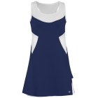 DUC Tease Women's Dress (Navy/ White) - DUC Tennis Apparel