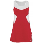 DUC Tease Women's Dress (Red/ White) - DUC Tennis Apparel