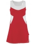 DUC Tease Women's Dress (Red/ White) - DUC Apparel