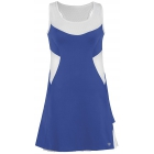 DUC Tease Women's Dress (Royal/ White) - DUC Team Tennis Apparel
