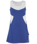 DUC Tease Women's Dress (Royal/ White) - DUC Apparel