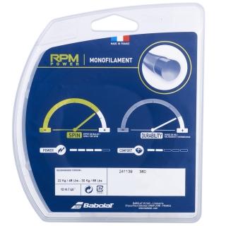 Babolat RPM Power 17g Tennis String Set (Electric Blue)