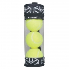cinda b Jet Set Black Tennis Ball Case -