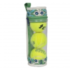 cinda b Verde Bonita Tennis Ball Case -
