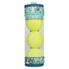cinda b Peacock Tennis Ball Case -