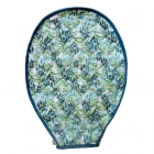 cinda b Purely Peacock Tennis Racquet Cover -