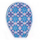 cinda b Royal Bonita Tennis Racquet Cover -