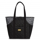 cinda b Jet Set Black Tennis Court Bag -