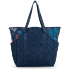 cinda b Tropicalia Tennis Court Bag - Designer Tennis Bags - Luxury Fabrics and Ultimate Functionality