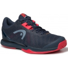 Head Men's Sprint Pro 3.0 Tennis Shoes (Midnight Navy/Neon Red) - How To Choose Tennis Shoes