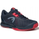 Head Men's Sprint Pro 3.0 Tennis Shoes (Midnight Navy/Neon Red) - Head Tennis Shoes