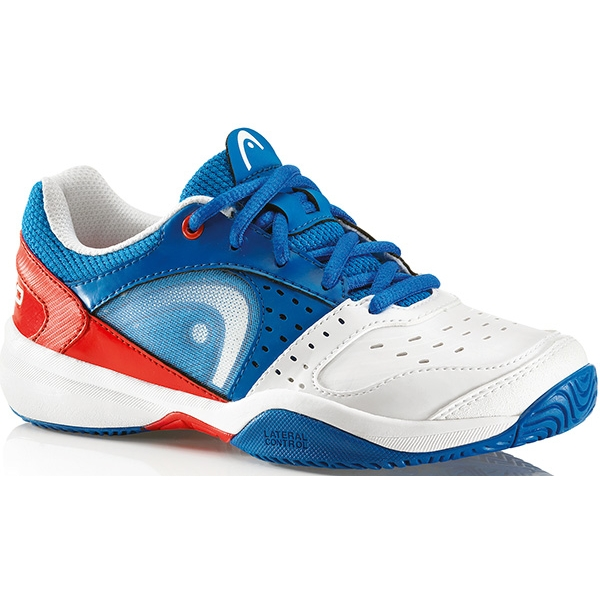 Head Men's Sprint Pro Tennis Shoes (Blu/Wht/Red) from Do It Tennis