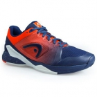 Head Men's Revolt Pro 2.5 Tennis Shoes (Blue/Orange) - New Head Racquets, Bags, and Hats