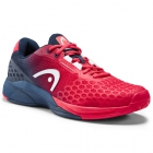 Head Men's Revolt Pro 3.0 Tennis Shoes (Red/Dark Blue) - Head Tennis Shoes