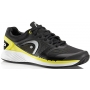 Head Men's Sprint Pro Tennis Shoes (Black/Lime)