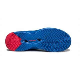 Head Men's Revolt Pro 3.0 Tennis Shoes (Anthracite/Royal Blue)