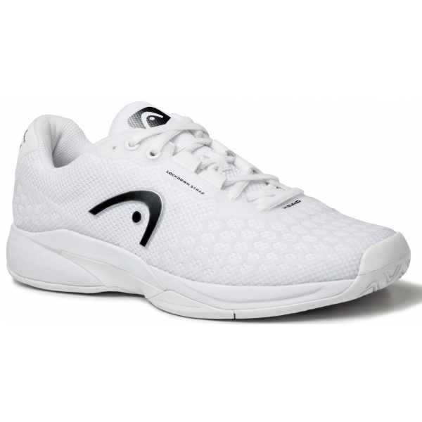 Head Men's Revolt Pro 3.0 Tennis Shoes (White/Yellow)
