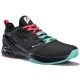 Head Men's Sprint SF Tennis Shoes (Black/Teal) - Head Tennis Shoes