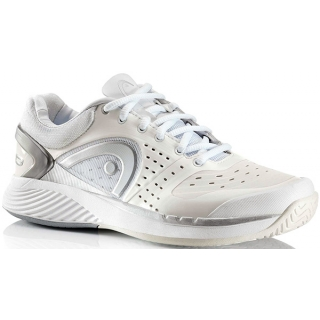 Head Women's Sprint Pro Tennis Shoes (Wht/Gry/Sil)