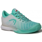 Head Women's Sprint Pro 3.0 Tennis Shoes (Teal/White) - Women's Tennis Shoes