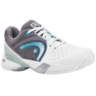 Head Women's Revolt Pro Tennis Shoes (White/ Grey/ Blue) - Women's Tennis Shoes