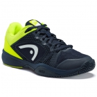 Head Junior Revolt Pro 2.5 Tennis Shoes (Dark Blue/Neon Yellow) - Head Tennis Shoes