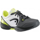 Head Revolt Pro Junior Tennis Shoes (Grey/ Wht/ Neon Ylw) - Tennis Shoes for Kids