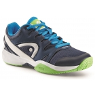 Head Nitro Junior Tennis Shoes (Navy/Neon Green) - Head Tennis Shoes