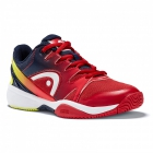 Head Sprint 2.0 Junior Tennis Shoes (Red/Black) - Tennis Shoes for Kids