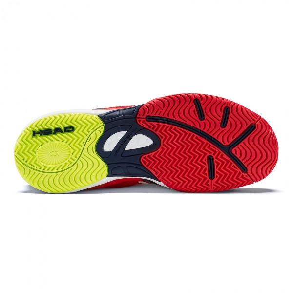 Head Sprint 2.0 Junior Tennis Shoes (Red/Black)