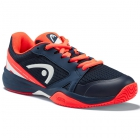 Head Junior Sprint 2.5 Tennis Shoes (Dark Blue/Neon Yellow) - Head Tennis Shoes