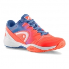 Head Sprint 2.0 Junior Tennis Shoes (Marine/Coral) - Tennis Shoes for Kids