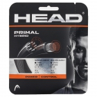 Head Primal Hybrid Tennis String, 16g (Anthracite) - Head Polyester Tennis String