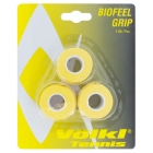 Volkl Biofeel Overgrip 3-Pack (Yellow) - Grips on Sale